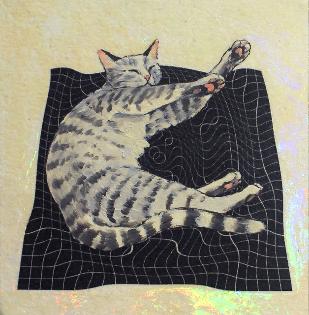 , 'Happy Cat,' 2019, Deep Space Gallery