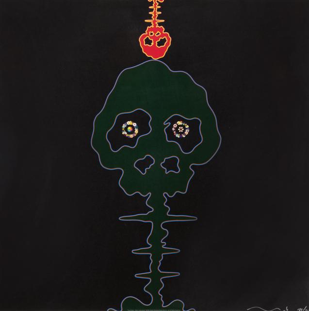 Takashi Murakami, 'Time Bokan- Black', 2006, Heather James Fine Art Gallery Auction
