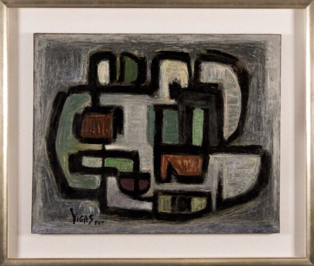 , 'Objeto Gris ,' 1954, Ascaso Gallery