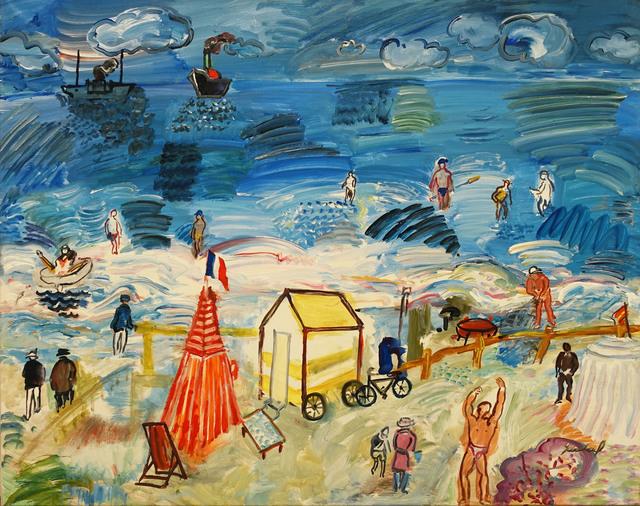 , 'Plage aux êstivants,' 1994, Galeria Jordi Pascual