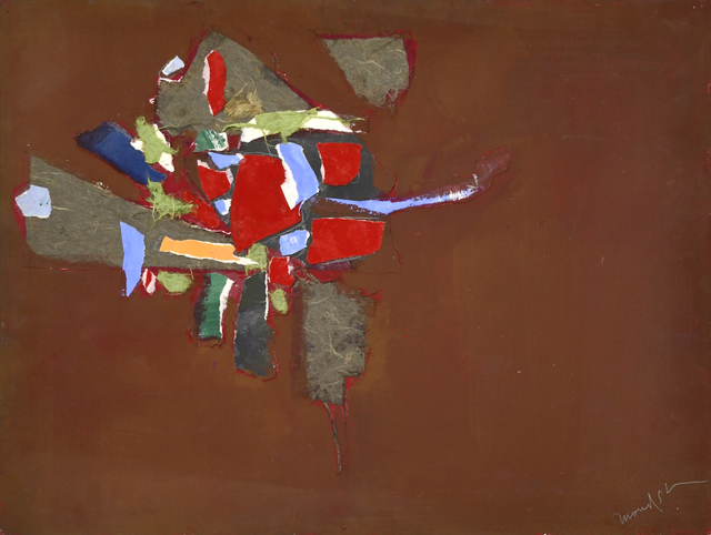 Beatrice Mandelman, 'Space Series #56 (60-SP 5-22)', 1954, Mixed Media, Collage and acrylic on mat board, 203 Fine Art