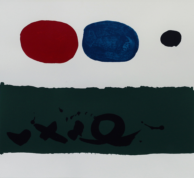 Adolph Gottlieb, 'Green Foreground', 1972, Print, Screenprint in Colors, Matthews Gallery