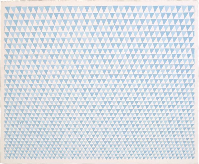 , 'blue flags,' 2014, Sears-Peyton Gallery