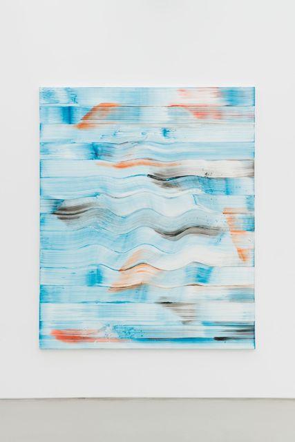 Bernard Frize, 'Vernal', 2014, Painting, Acrylic and resin on canvas, Perrotin