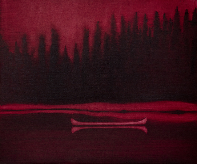 Mike Piggott, 'Red Canoe', 2019, Tayloe Piggott Gallery