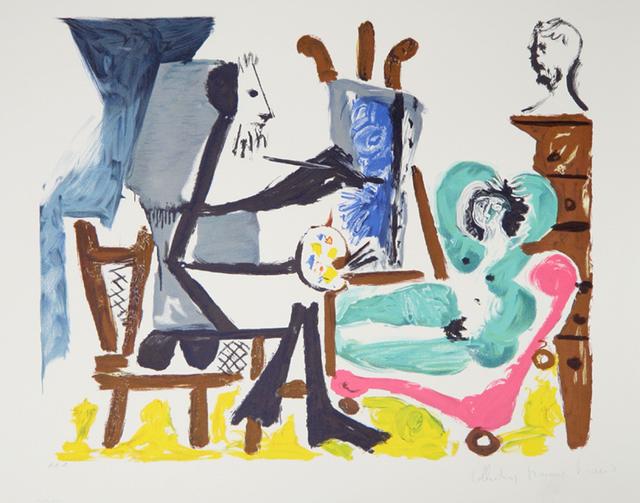Pablo Picasso, 'Le Peintre et son Modele, 1962', 1979-1982, RoGallery