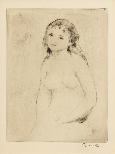 Pierre-Auguste Renoir, 'Étude pour une baigneuse', c. 1906, Hindman