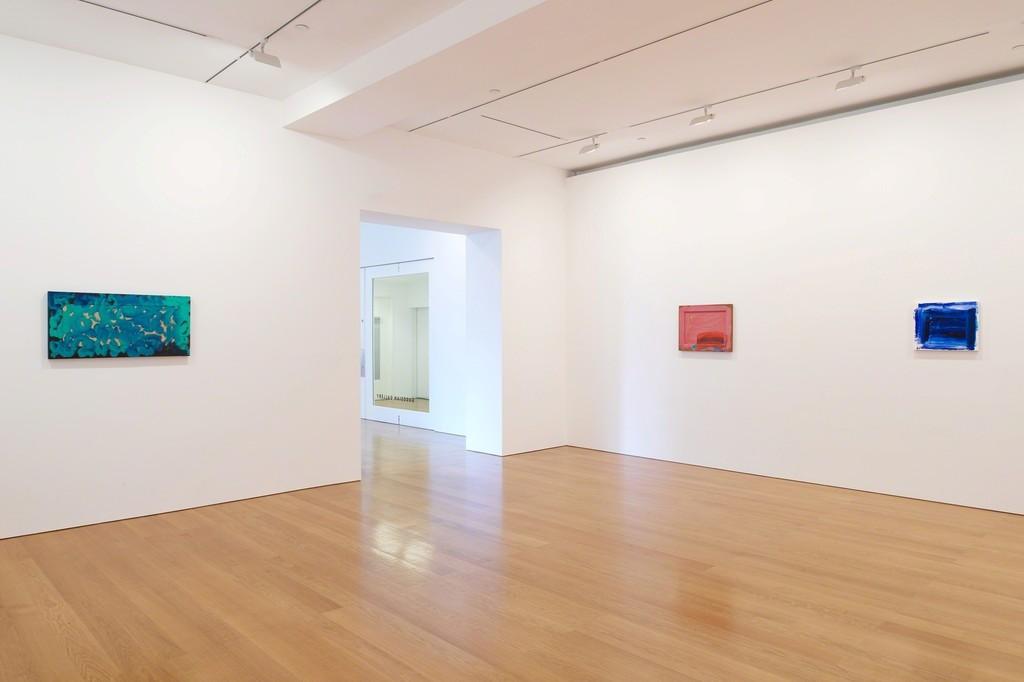 "Installation view, ""Howard Hodgkin: In the Pink"". Courtesy Gagosian. Artworks ©Howard Hodgkin"
