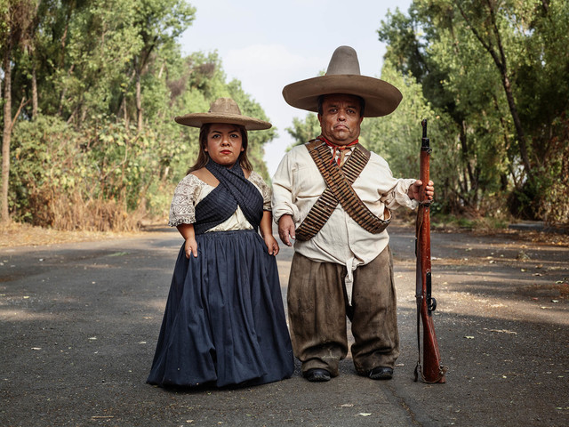 Pieter Hugo, 'Zapata and Adelita, Mexico City', 2019, Yossi Milo Gallery
