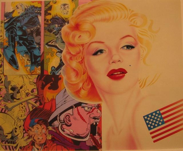 , 'Crying Marilyn,' 2002, Galerie Ernst Hilger