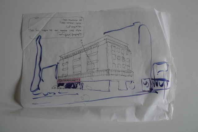 , 'Sketch for Time Chart for the Documenta Worker,' , Mor Charpentier