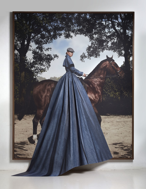 , 'Horse and Rider,' 2012, The Ravestijn Gallery