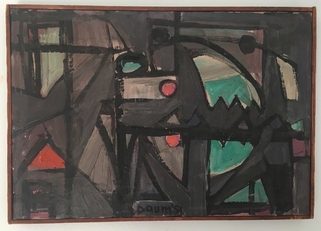 Howard Daum, 'Untitled', 1951, Painting, Oil on Canvas, Montanaro Fine Art