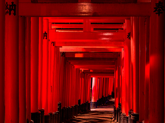 , 'Fushimi Inari-Taisha 9,' 2016, Hollis Taggart Galleries