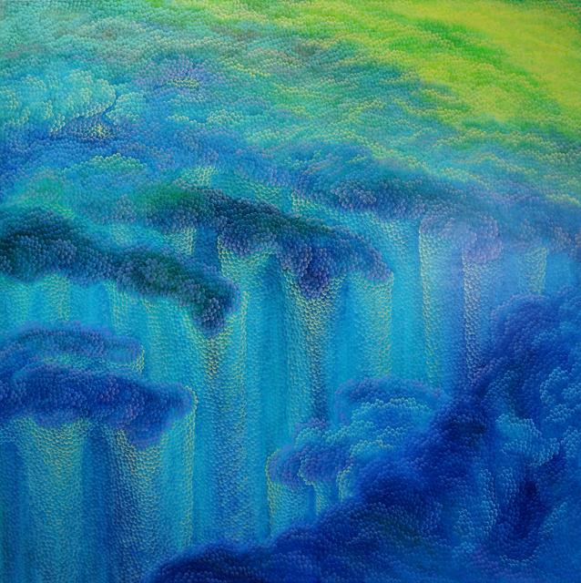 , 'Bluemountain,' 2018, ART MORA