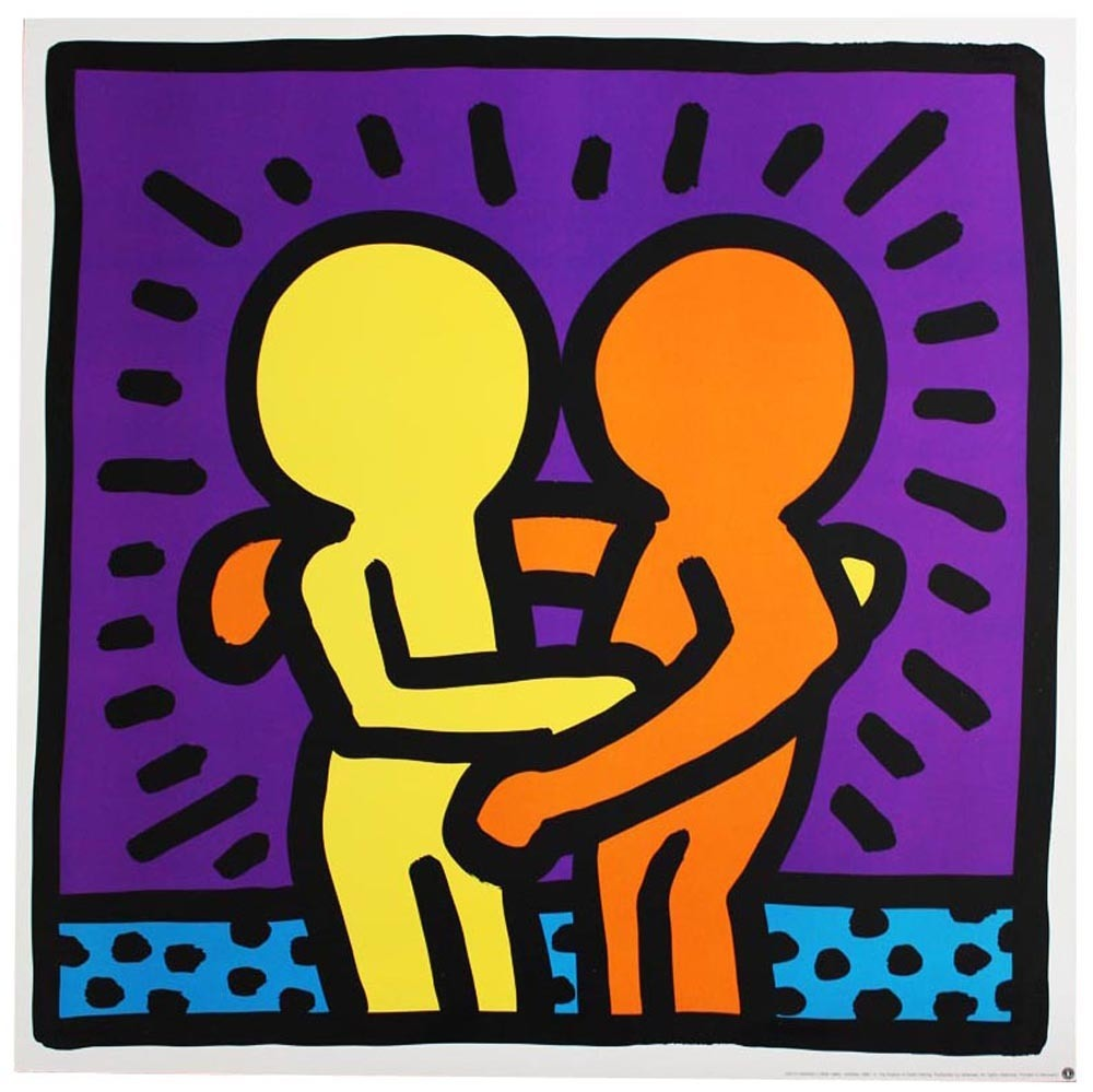 Keith Haring Best Buddies Ca 1993 Available For