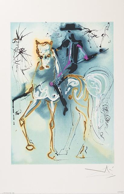 Salvador Dalí, 'Le Picador', 1983, Print, Lithograph on Vélin d'Arches Paper, Art Lithographies