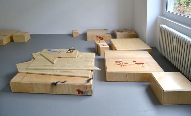 , 'Progress Ⅲ,' 2012, Gyeonggi Museum of Modern Art