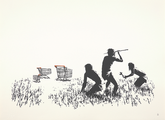 Banksy, 'Trolleys', 2006, Phillips