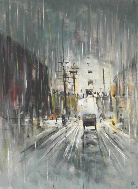 """, '""""The Road 8"""",' 2016, Krokin Gallery"""
