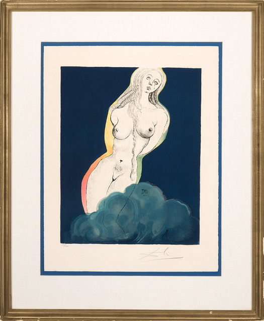 Salvador Dalí, 'Allegory: Brave Cecile (Field 69-1B)', 1969, Print, Color lithograph, on Arches paper, Doyle