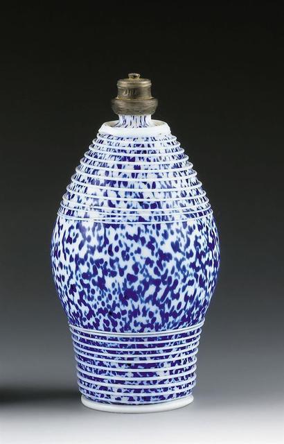 , 'White Opaque Glass Bottle,' Alpine Central Europe-17th/18th century, Galerie Kovacek