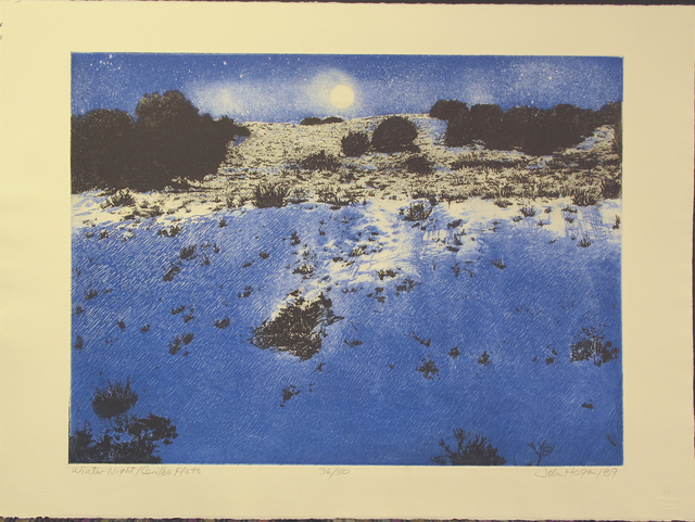, 'Winter Night, Cerrillos Flats,' 1992, Glenn Green Galleries