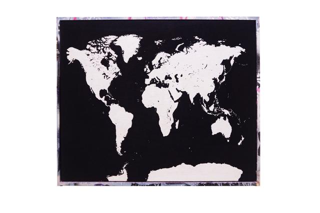 Aoyama Satoru + ANTZ, 'Map of the World (The Age of Disappearance)', 2013-2017, Mizuma Art Gallery