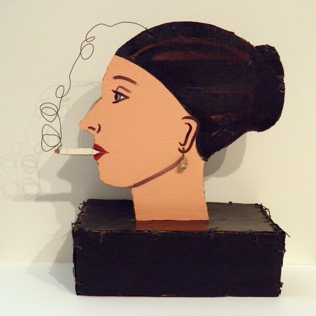 , 'Smoker,' 1973, George Adams Gallery