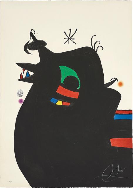 Joan Miró, 'Le Maréchal des logis (The Sergeant)', 1978, Phillips