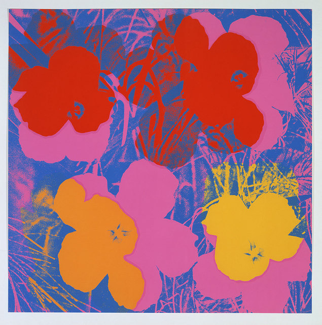 Andy Warhol, 'flowers ', 1970, David Parker Gallery