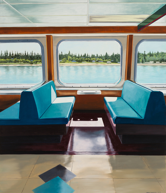 , 'Seattle Bremerton Ferry,' 2018, Linda Hodges Gallery