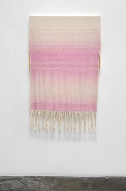 , 'Canvas with Pink Silk,' 2015, Shoshana Wayne Gallery