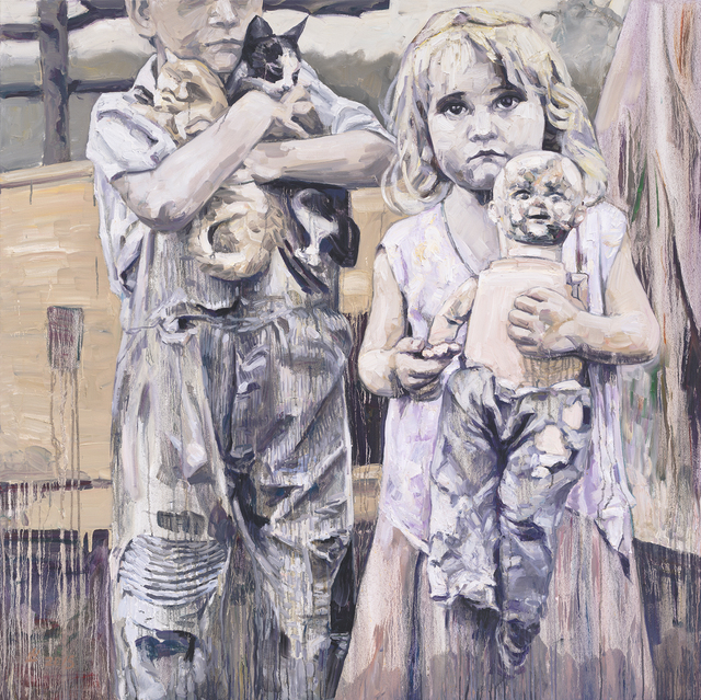 , 'Camp Companions,' , Gail Severn Gallery