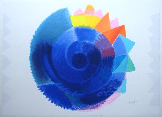 Heinz Mack, 'Rotation, 2014', 2014, Galerie Ludwig Kleebolte