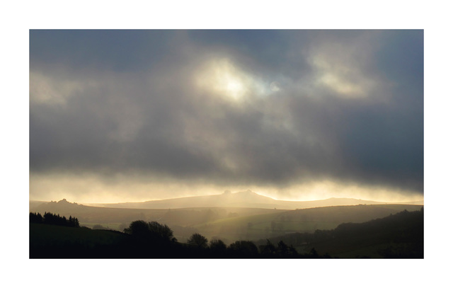 , 'Early morning, January 27th looking east to Hay Tor,' Winter-2014, HackelBury Fine Art