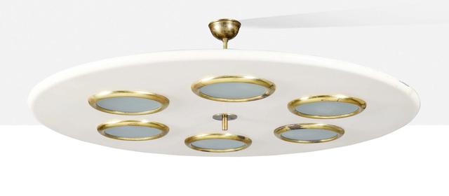 Lumen, 'Ceiling light', Circa 1955, Aguttes
