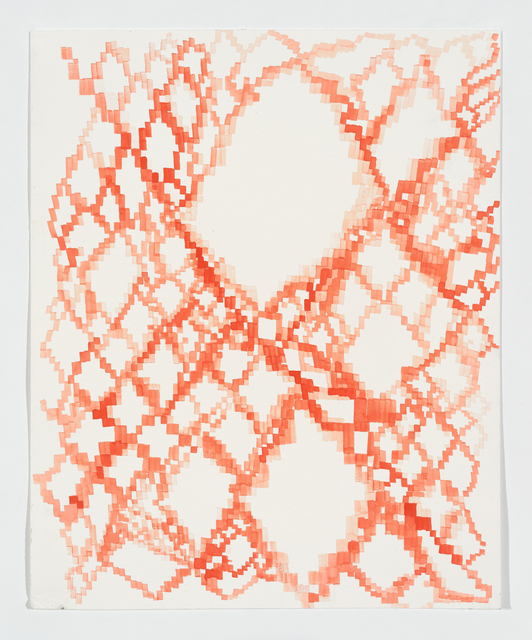 Keltie Ferris, 'Untitled', 2014, Painting, Gouache on matte board, Topical Cream Benefit Auction