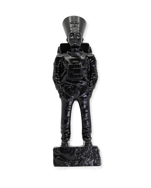 Imbue, ''Ancient Astronaut Nefertiti'', 2020, Sculpture, Cast resin with black finish., Signari Gallery