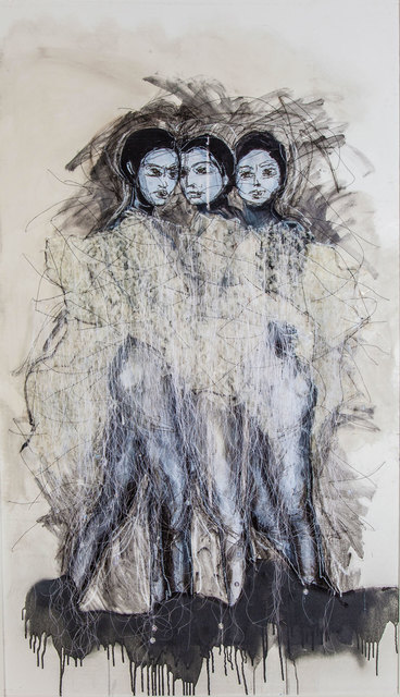 , 'The Three Brodettes,' 2017, Lilienthal Gallery