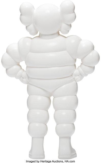 KAWS, 'Chum (White)', 2002, Sculpture, Painted cast vinyl, Heritage Auctions