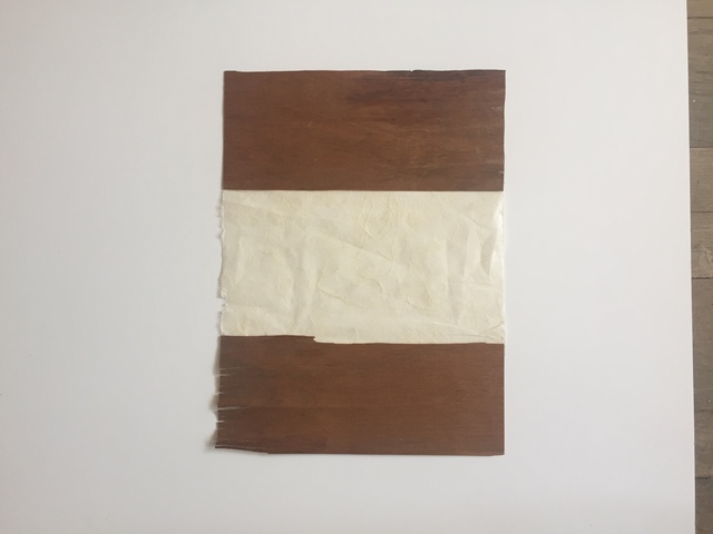 , 'Paper & Wood,' 2017, Amos Eno Gallery