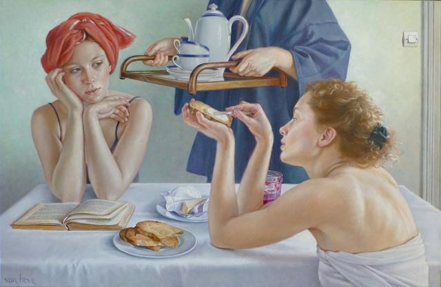 , 'Le cafe arrive,' 2015, Galerie de Bellefeuille