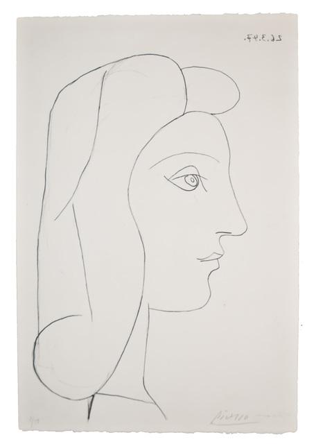 Pablo Picasso, 'Profil de Femme', 1947, John Szoke