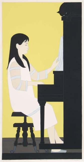 , 'Girl at the Piano,' 1973, Resource Art