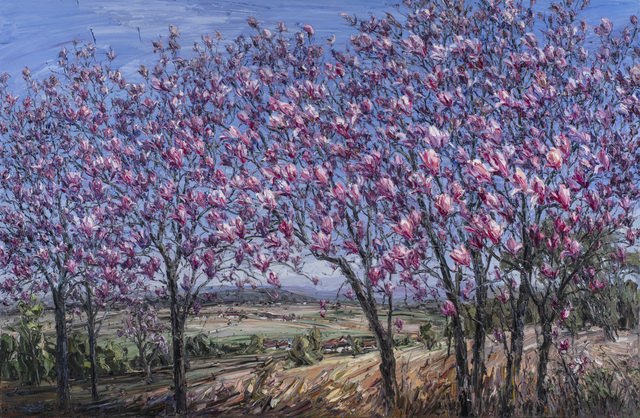 Jun Chen B 1960 Magnolia Trees 2018 Artsy