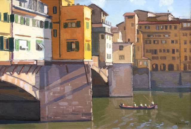 , 'Ponte Vecchio, Afternoon,' 2019, William Baczek Fine Arts