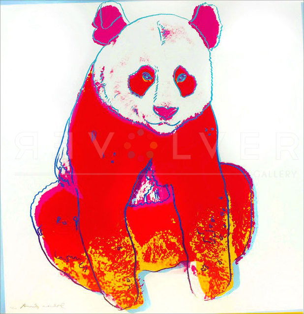 Andy Warhol, ' Giant Panda (FS II.295)', 1983, Revolver Gallery