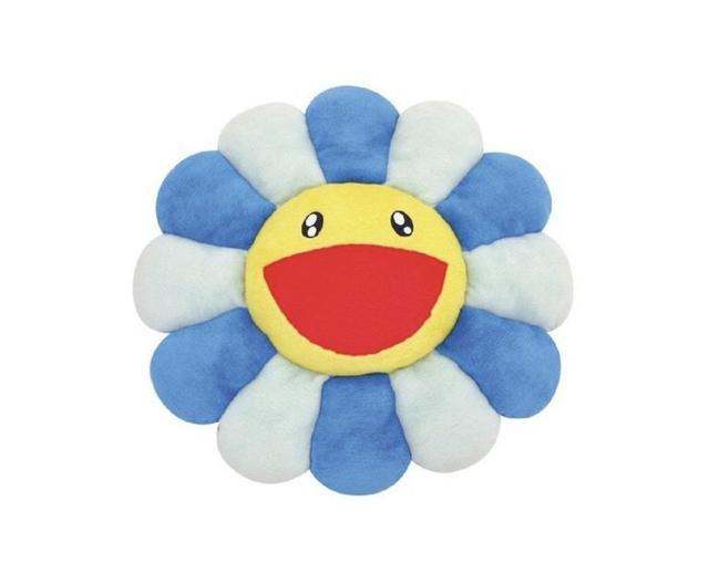 Takashi Murakami, 'Flower Pin (Blue)', 2010-2019, Design/Decorative Art, Cotton, Curator Style