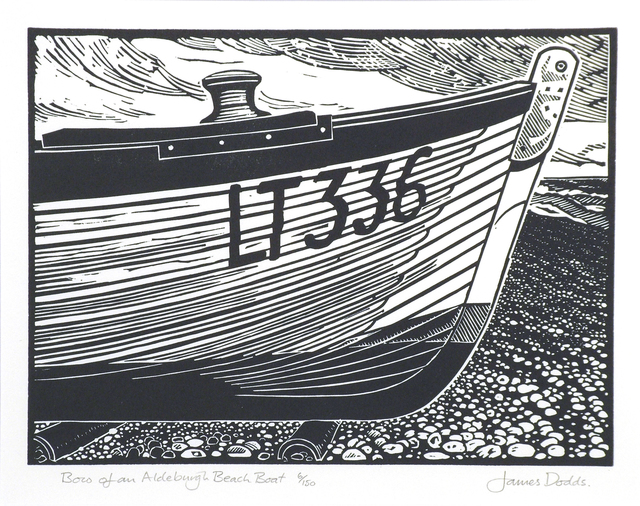 , 'Bow of an Aldeburgh Beach Boat,' , Dowling Walsh